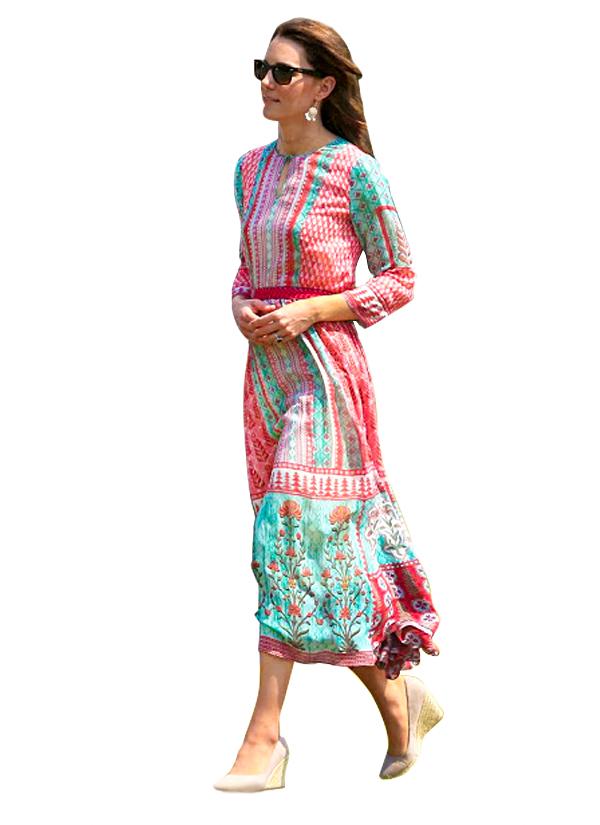 The Gulrukh Tunic Dress Anita Dongre Indian Designer