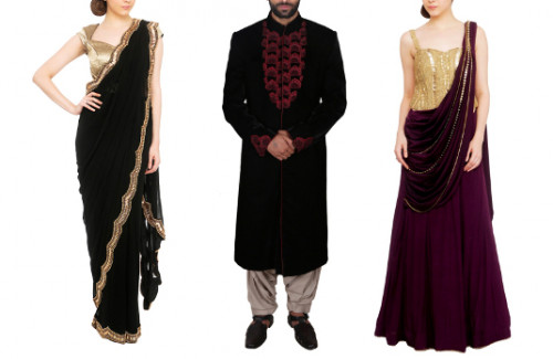indian fashion blog weddings match wedding reception outfits couples