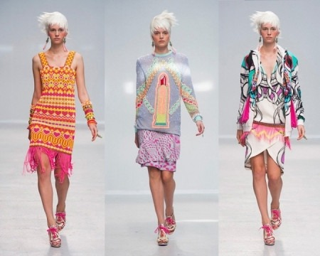 Indian designer Manish Arora presented the Indian designer collection at The PFW
