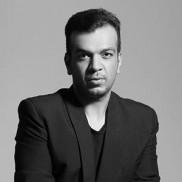 Indian Designer Amit Aggarwal on the ramp at Indian Fashion Week