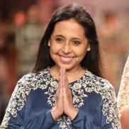 Veteran Indian Fashion Designer Anju Modi