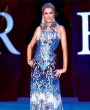 Paris Hilton Admires Shane and Falguni's Designs