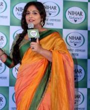 Vidya Wears Colourful Saree | Vidya Keeps it Stylishly Simple