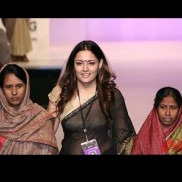 Indian Fashion Designer Agnimitra Paul on the Ramp