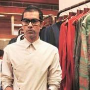Fashion Designer Arjun Saluja