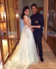 Sheetal Mafatlal at the Most Stylish Awards in Delhi with Manish Malhotra